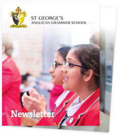 St George's Anglican Grammar School newsletters